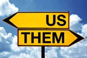 us v them