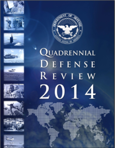QDR 2014 report cover