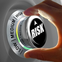 button shows three levels of risk management