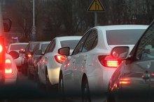 traffic jam bumper to bumper